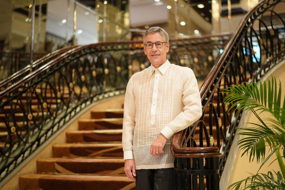 Philip Burchard, CEO of Merz Philippines