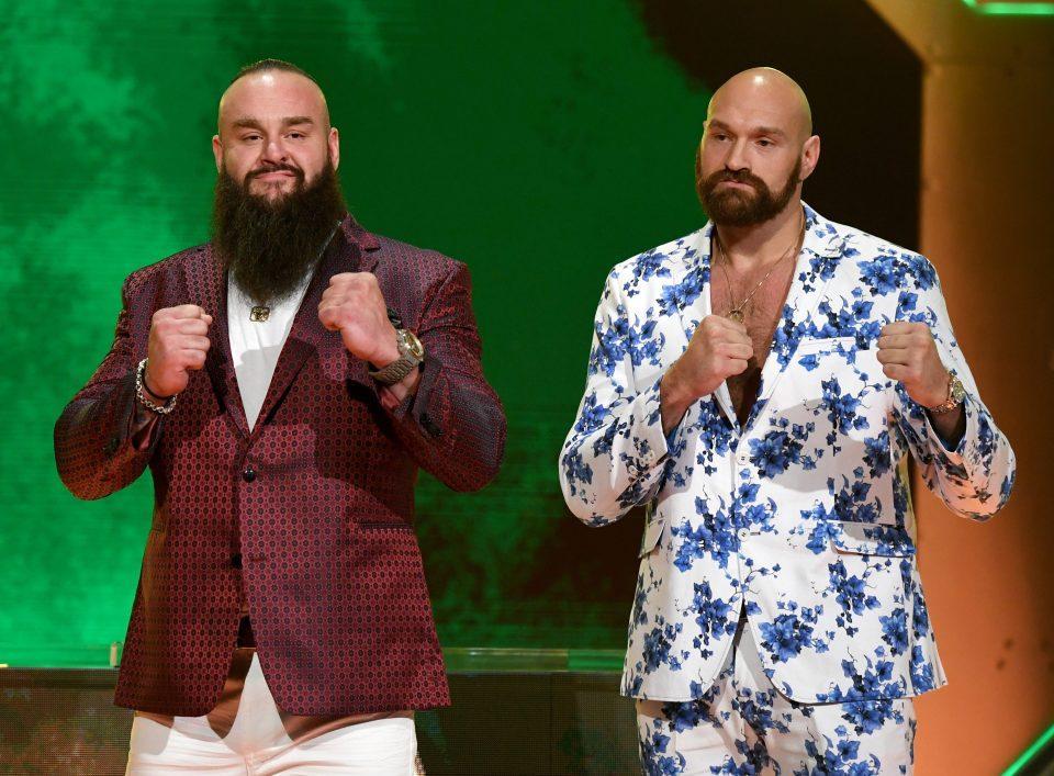 WWE Crown Jewel Braun Strowman Tyson Fury Saudi Arabia