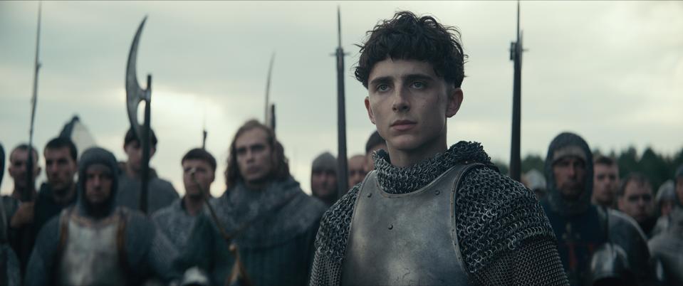 Netflix's 'The King' starring Timothée Chalamet