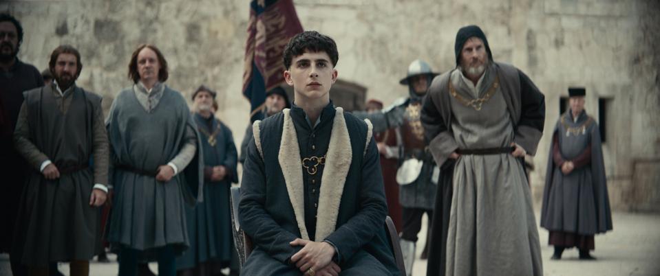 Netlix's 'The King' starring Timothée Chalamet