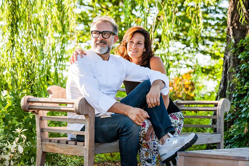 Chef Massimo Bottura and His Wife, Lara Gilmore
