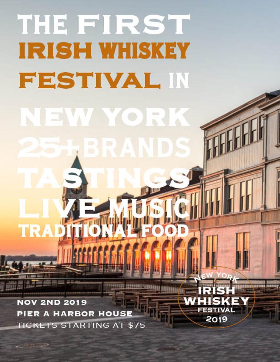 New York  Irish Whiskey Festival Post