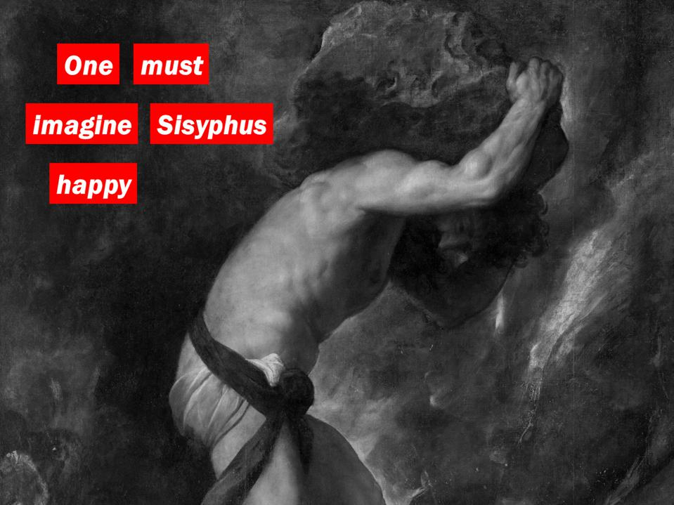 Sysyphos by Titian