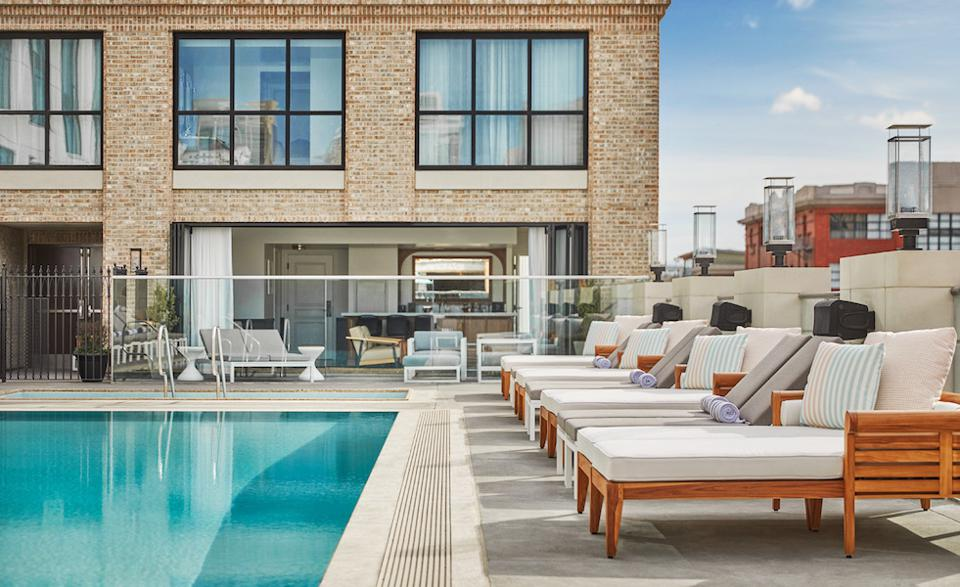 The Pool House at The Pendry.