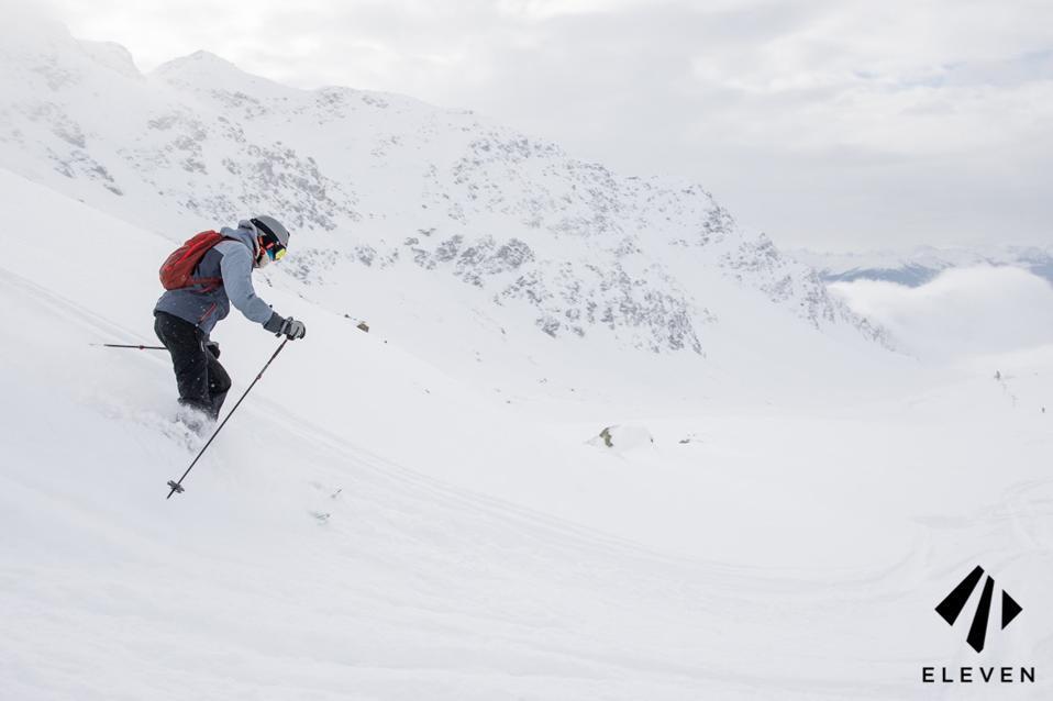 Tarentaise off piste skiing