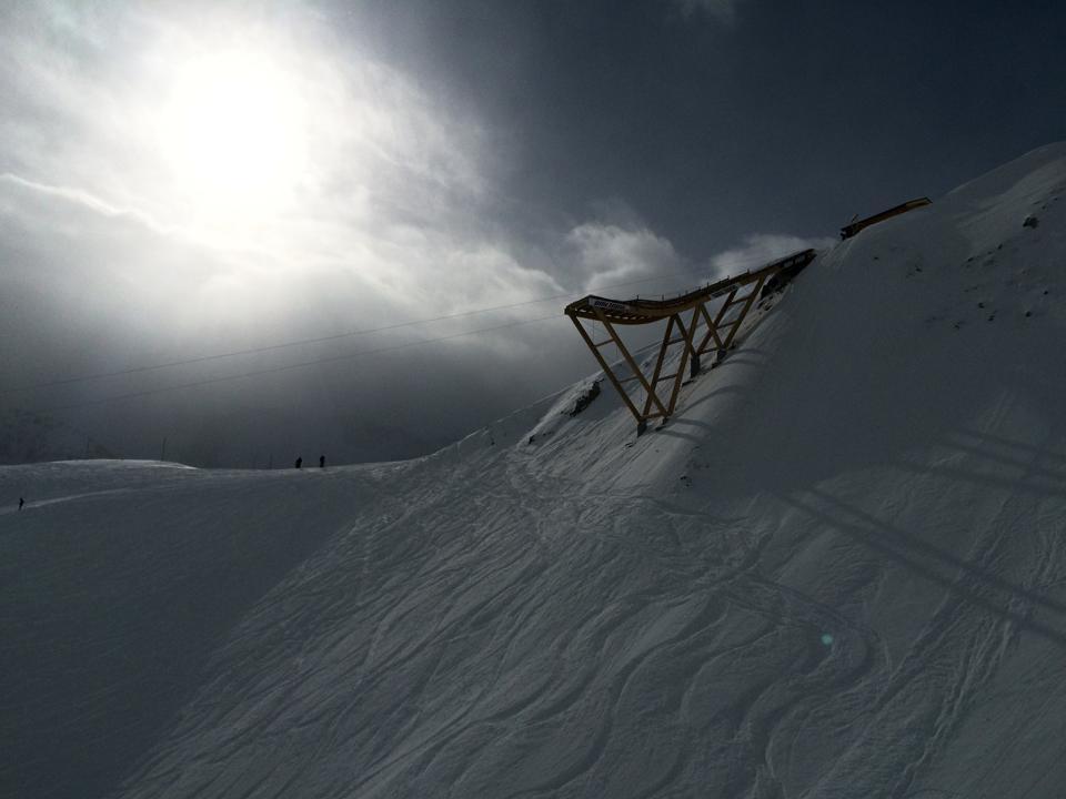 Ski bungee