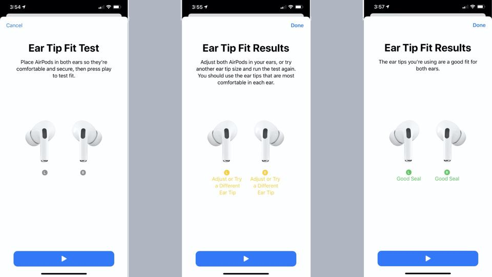 AirPods Pro Ear Tip Test