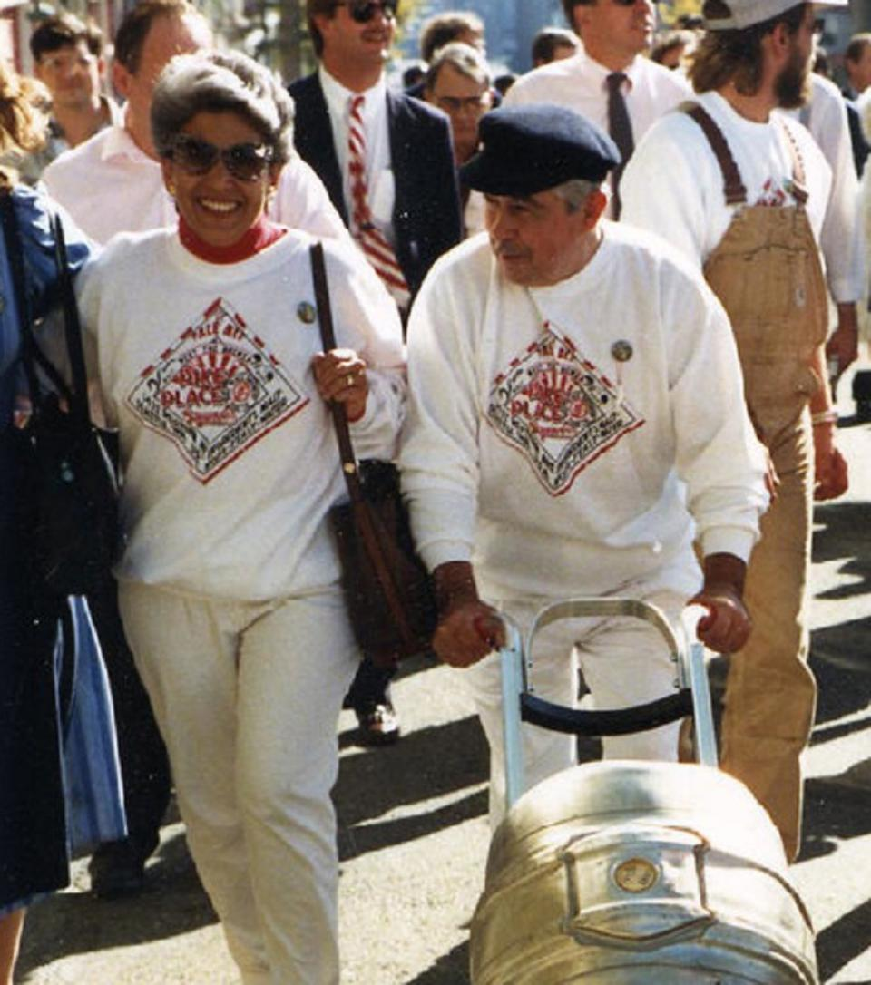 Pike Opening Day 1989 Rose Ann