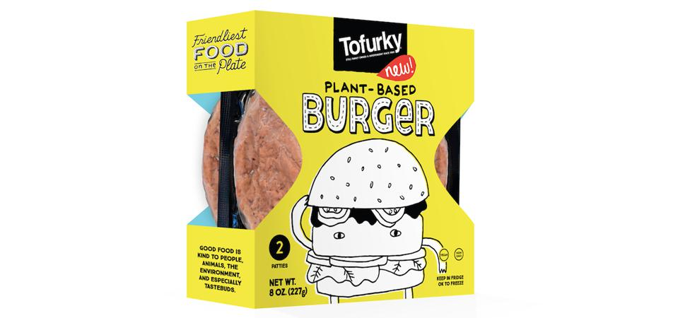 Tofurky plans to merchandise its new plant-based burgers in the produce section.