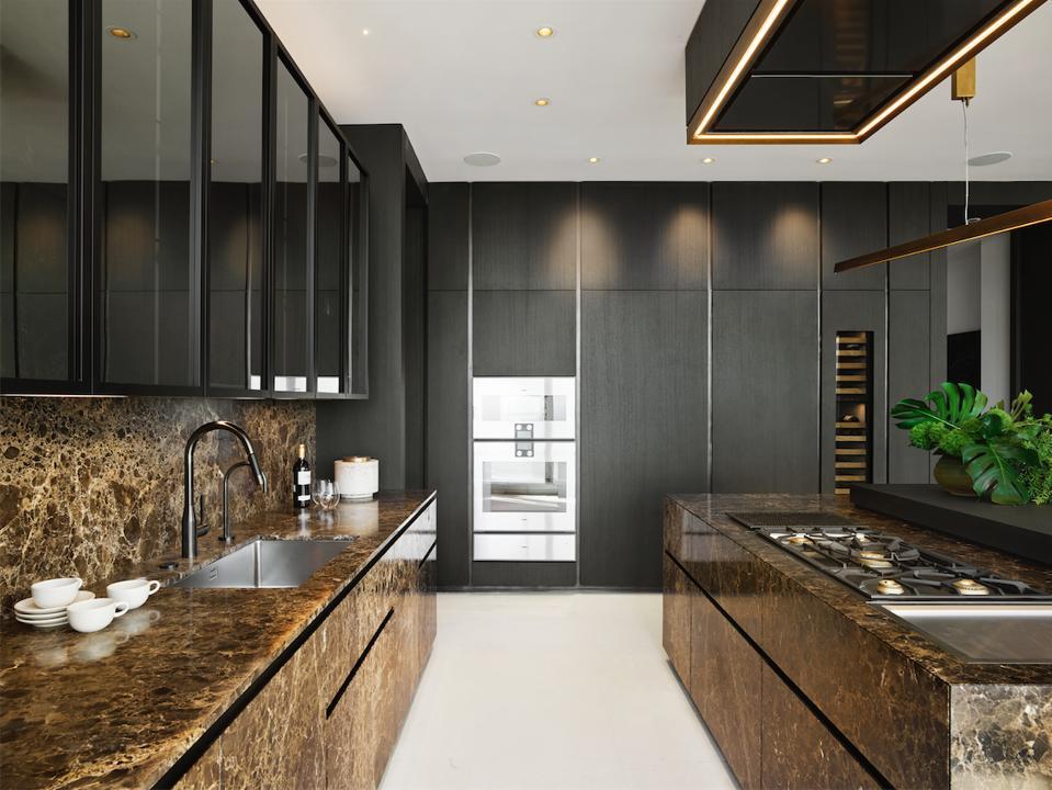 Stone monolith kitchens