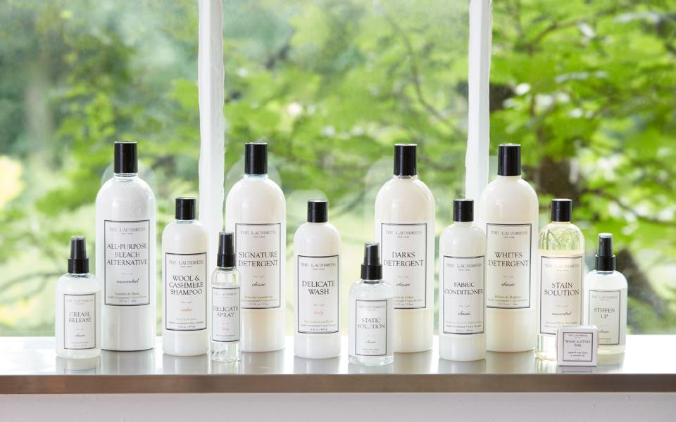 The Laundress product line.