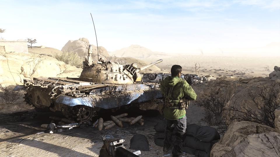 Tank in Modern Warfare