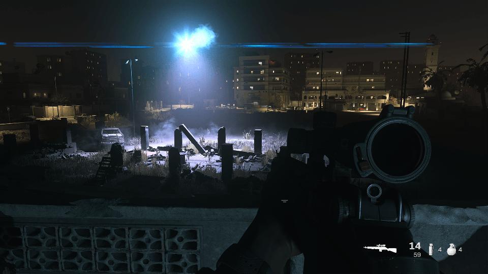 Modern Warfare sniping