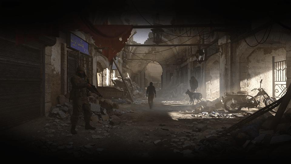 Modern Warfare rubble of Urzikstan