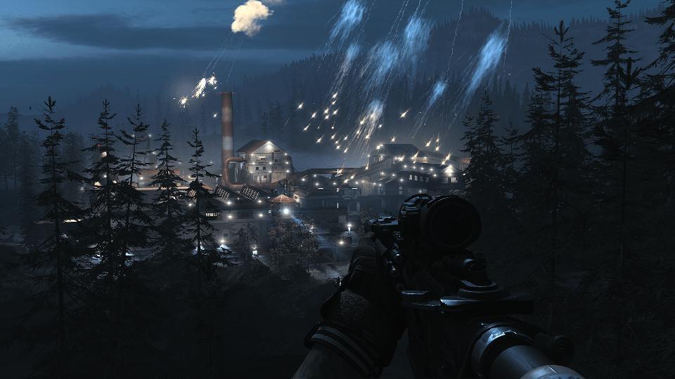 Factory bombing Fog of War Modern Warfare