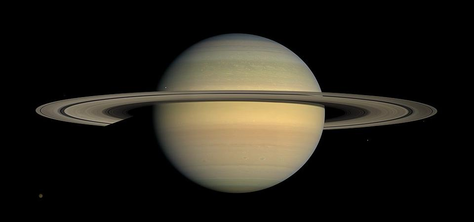 This captivating natural color view of the planet Saturn was created from images collected shortly after Cassini began its extended Equinox Mission in July 2008.