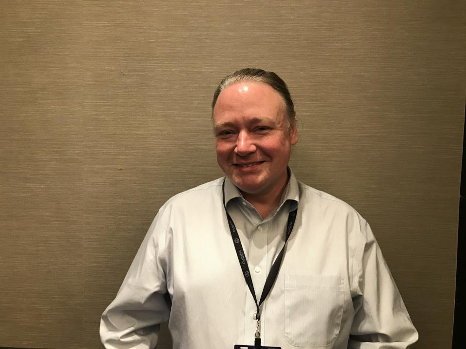 Executive Director Brian Behlendorf sat on a panel at World Crypto Con 2019.