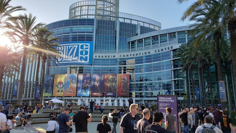 Anaheim Convention Center BlizzCon
