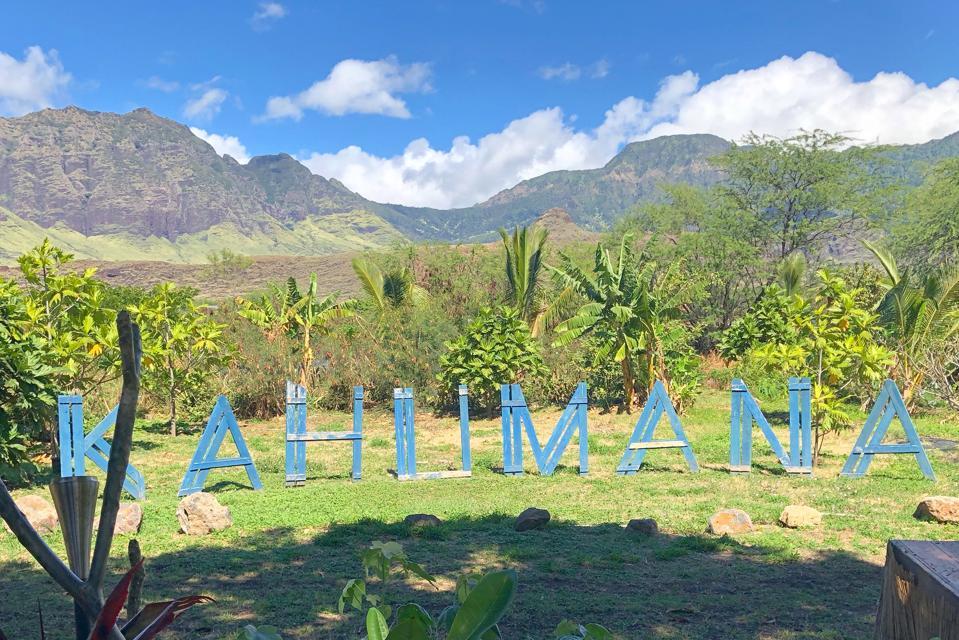 Kahumana Farms in Wai'anae, Hawai'i