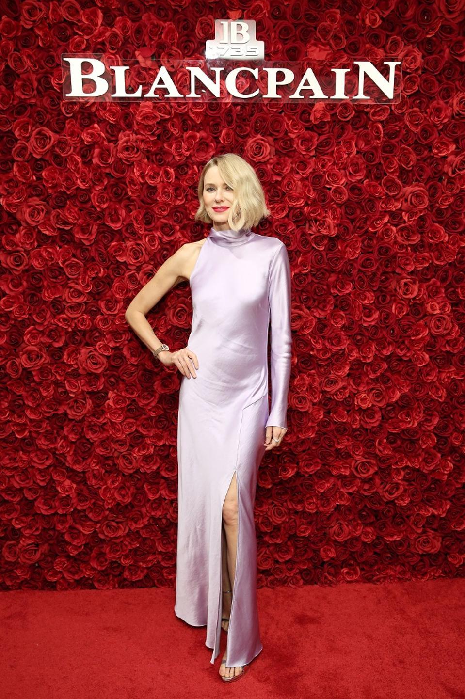 Naomi Watts Blancpain Marilyn Monroe