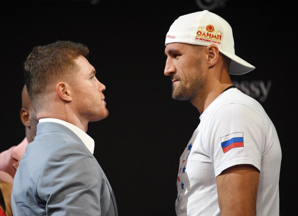 Canelo Alvarez vs Sergey Kovalev odds record prediction