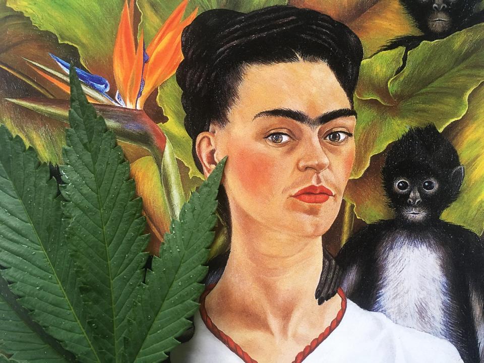 Cannabis And Frida Kahlo