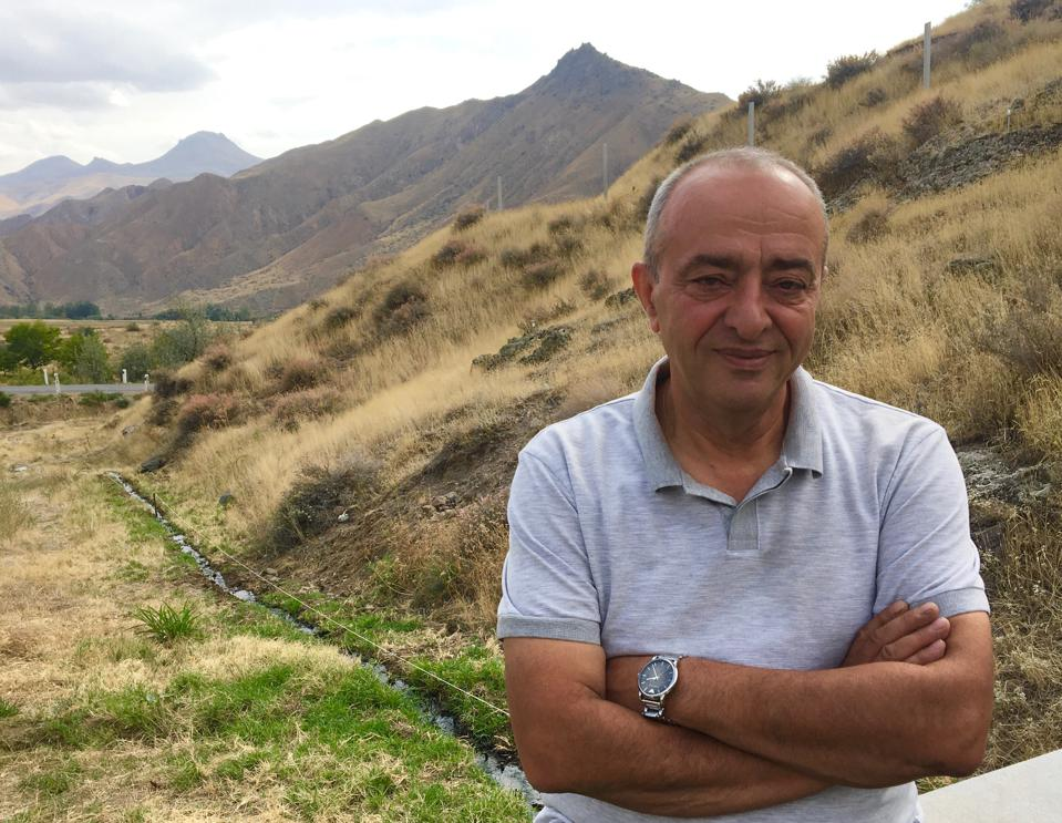 Armen Khalatyan, owner of Old Bridge Wine Cellar