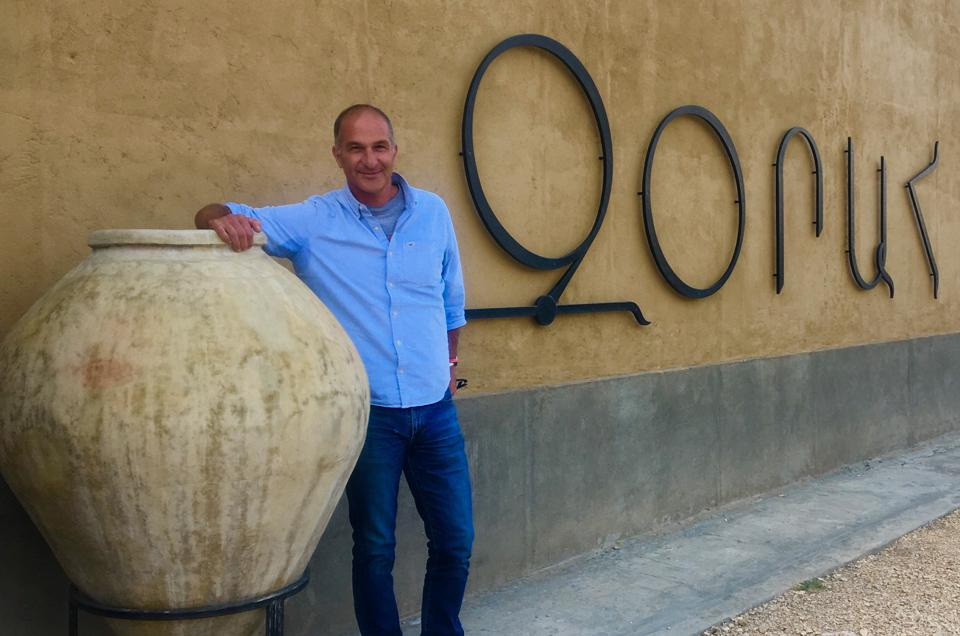 Zork Gharibian, owner of Zorah Wines