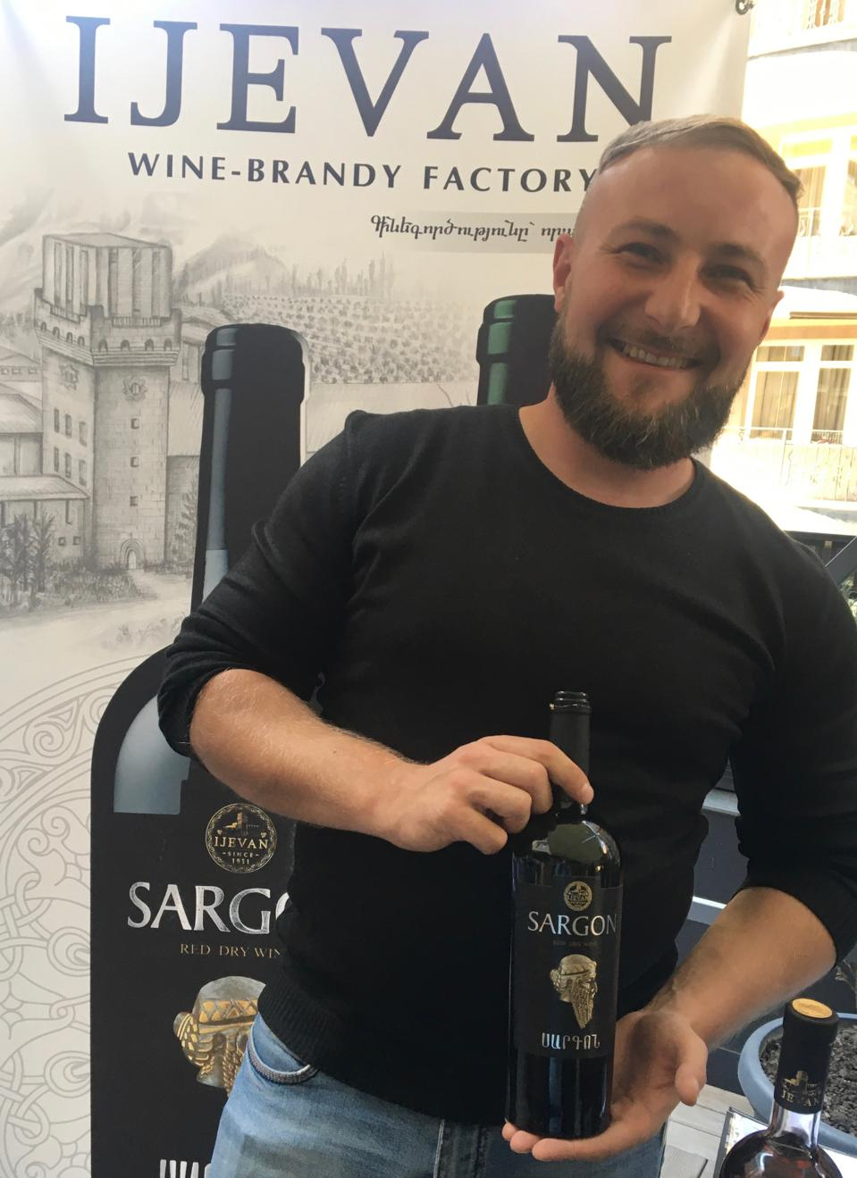 Sargon wine from  Ijevan