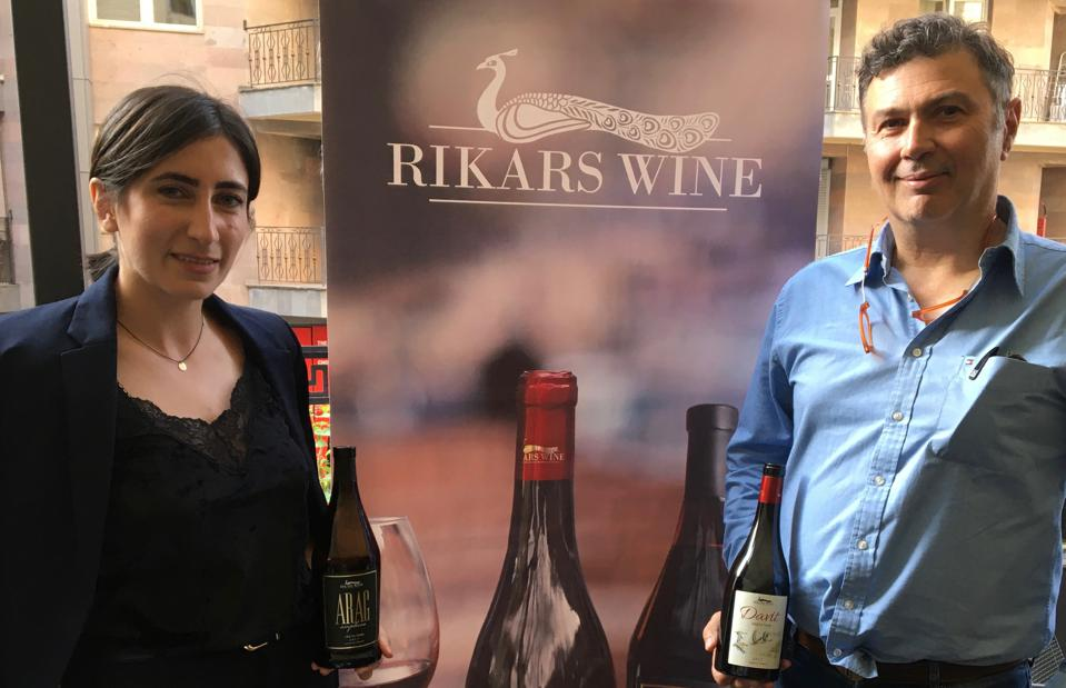 Silva Atoyan and Riccardo Gagliardi of Rikars Wine