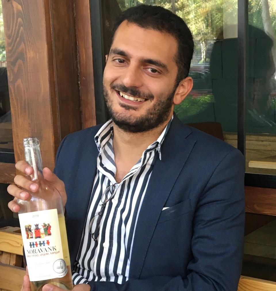 Frunzik Harutyunyan of Maran Winery