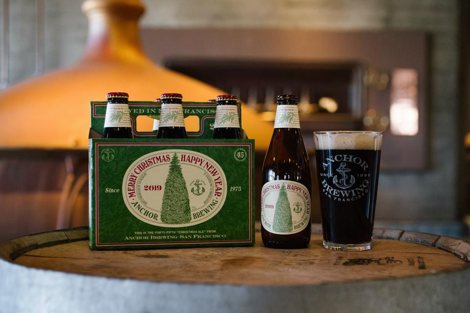 2020 Anchor Merry Christmas Ale Anchor Brewing Releases Its 45th Christmas Ale Since Prohibition