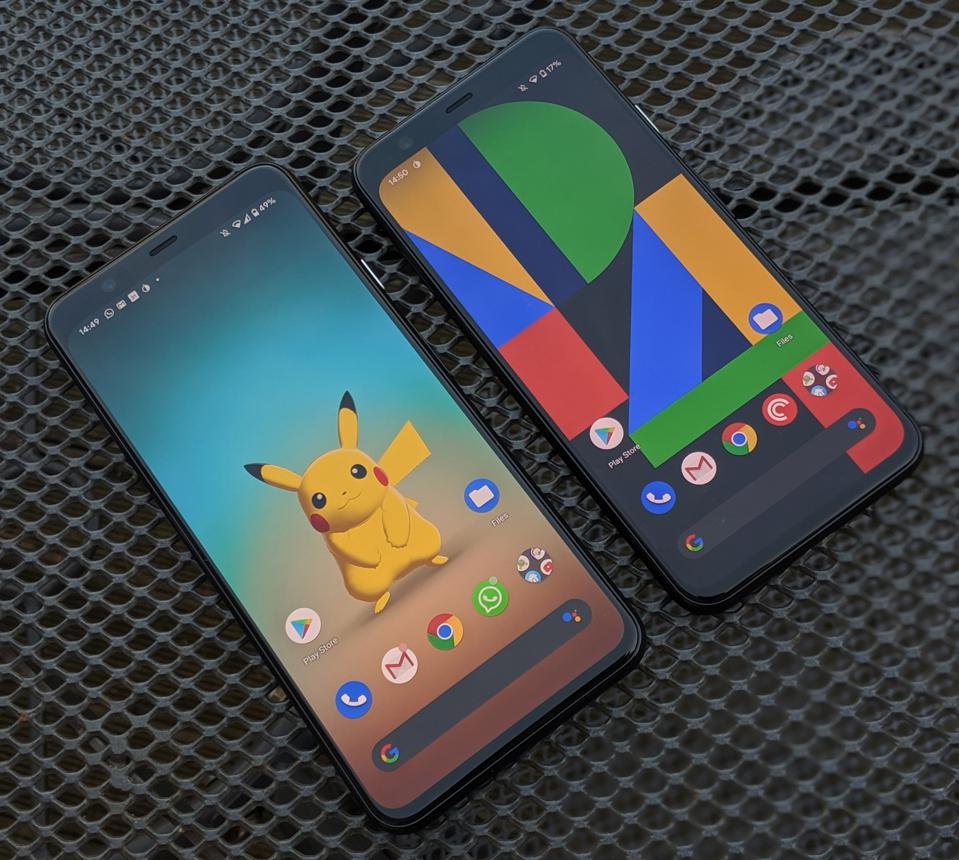 Google Pixel 4, Google Pixel 4 XL