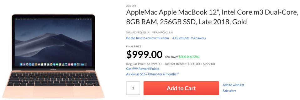 Apple Mac Black Friday sales, Apple MacBook Black Friday sales