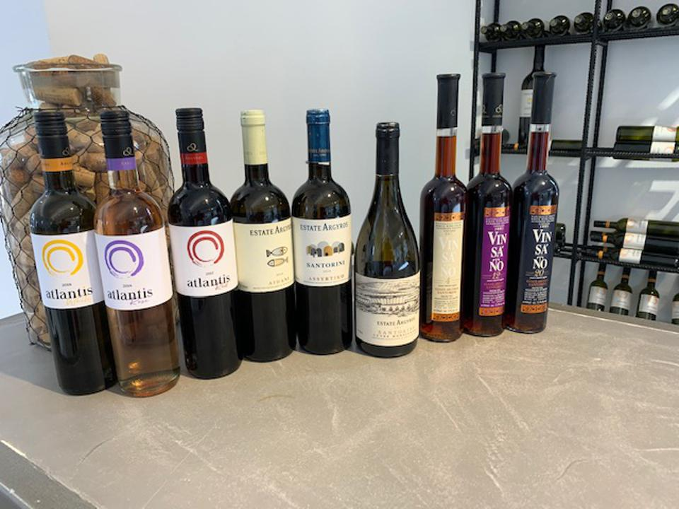 The Wines of Estate Argyros