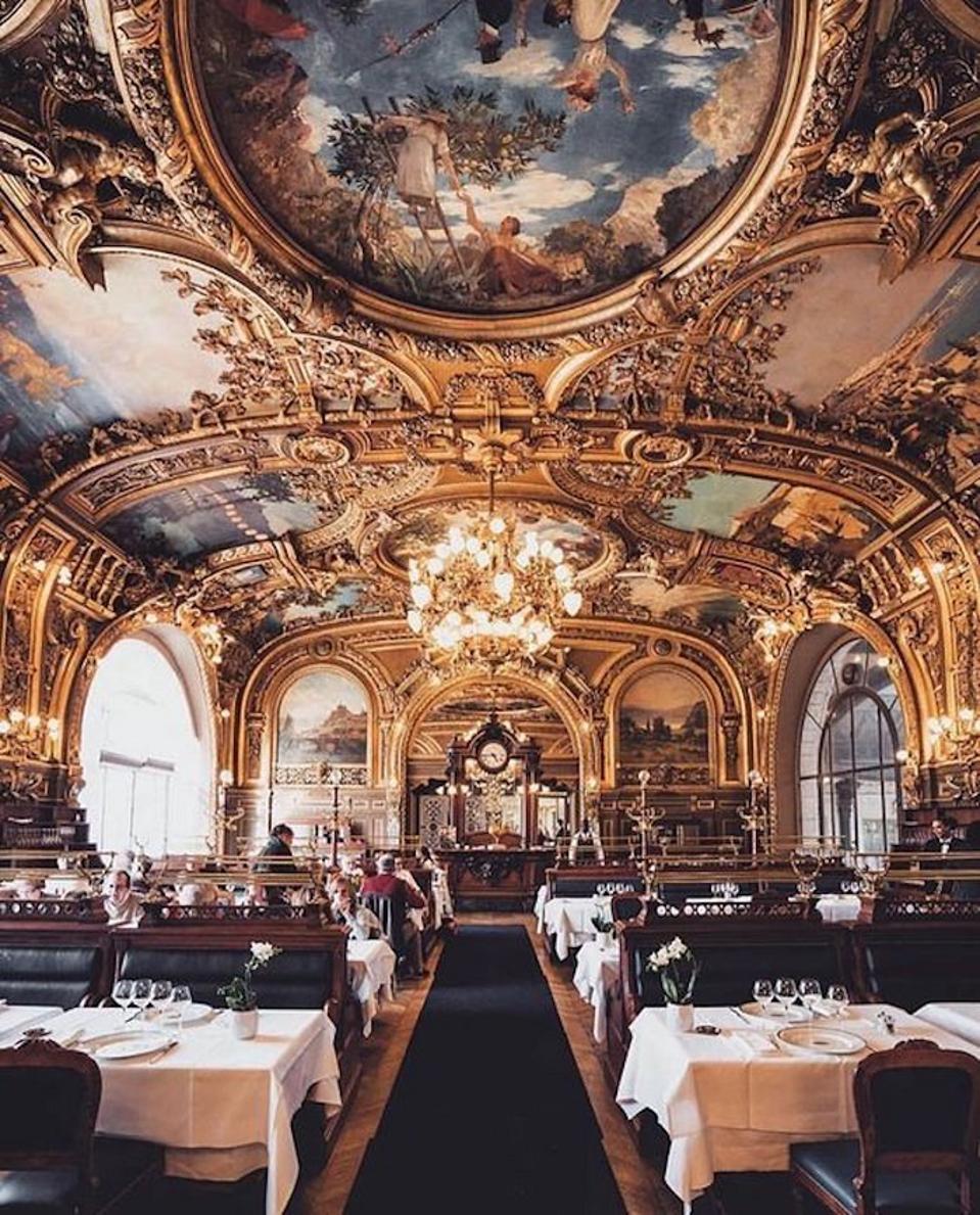 Le Train Bleu restaurant Paris
