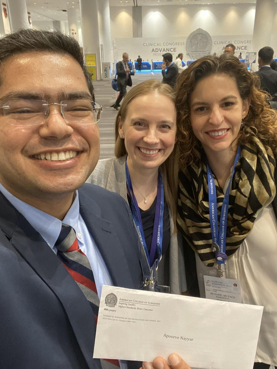 Authors of the study presented at the American College of Surgeons Clinical Congress in San Francisco this past week.
