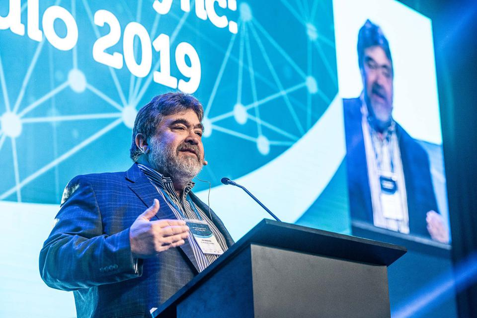 Jon Medved, OurCrowd founder and CEO, speaking at OurCrowd Sync: Sao Paulo, September 2019