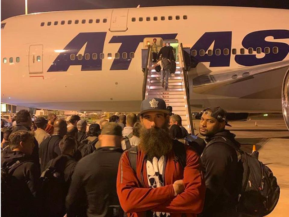 Saudi Flight delays Twitter deserted WWE Saudi Arabia SmackDown Vince McMahon Luke Harper