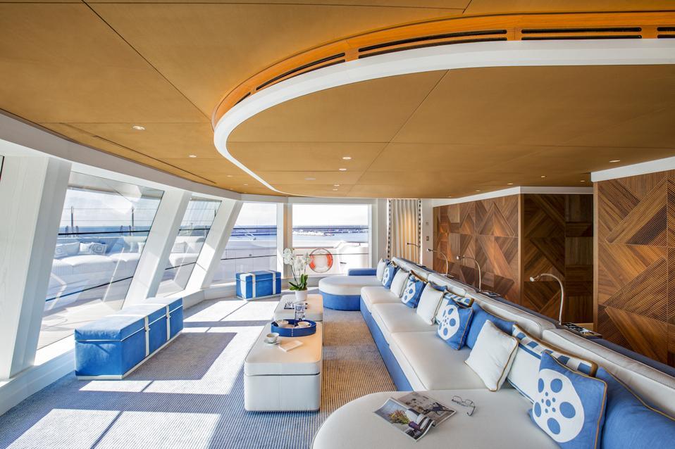 exclusive superyacht interior photos
