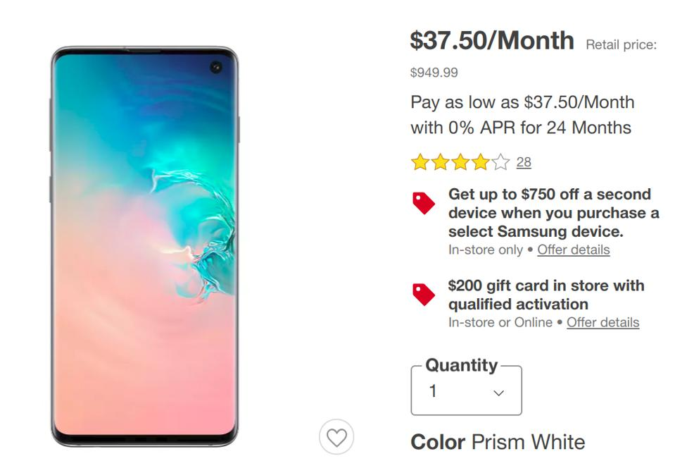 Samsung Black Friday 2019 Here Are The First Deals Forbes