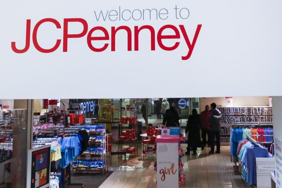 JCPenney's quarter earnings report