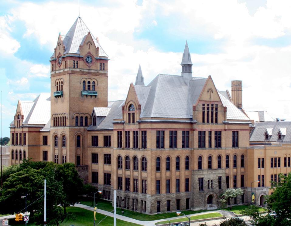 Wayne State University in Detroit, Michigan.