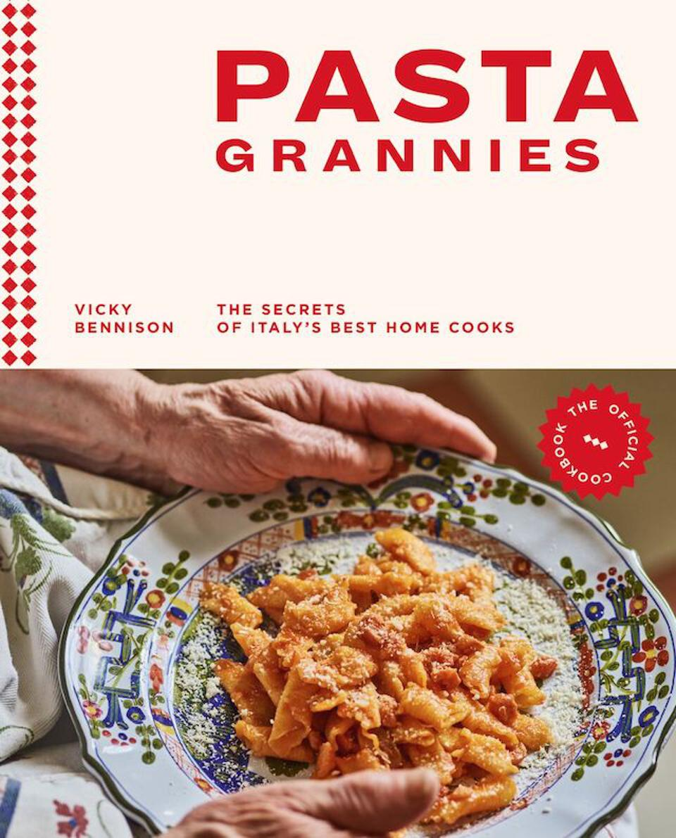 Book Cover Pasta Grannies