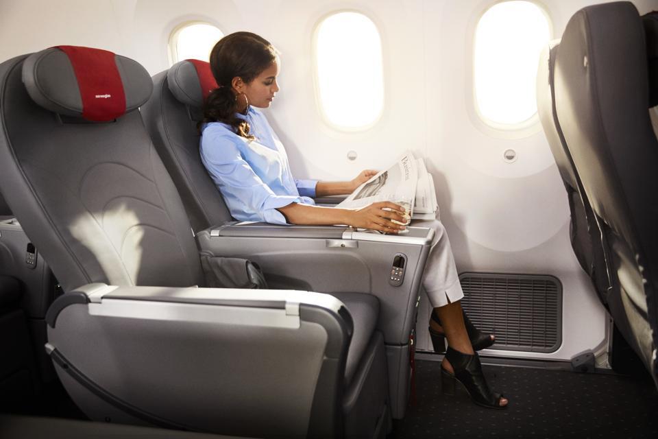 Norwegian premium seating.