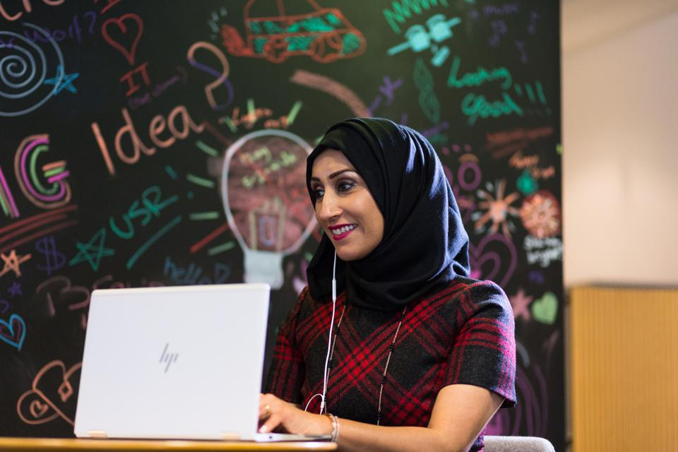 Sumaira 'Sam' Latif, Procter and Gamble's Company Accessibility Leader
