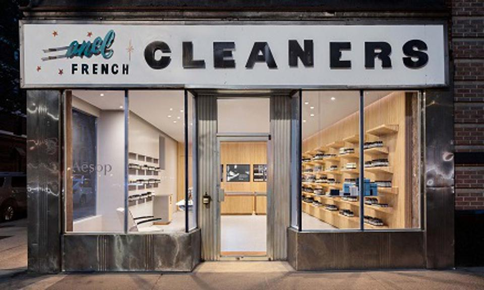 An Aesop boutique in New York City by Tacklebox Architecture