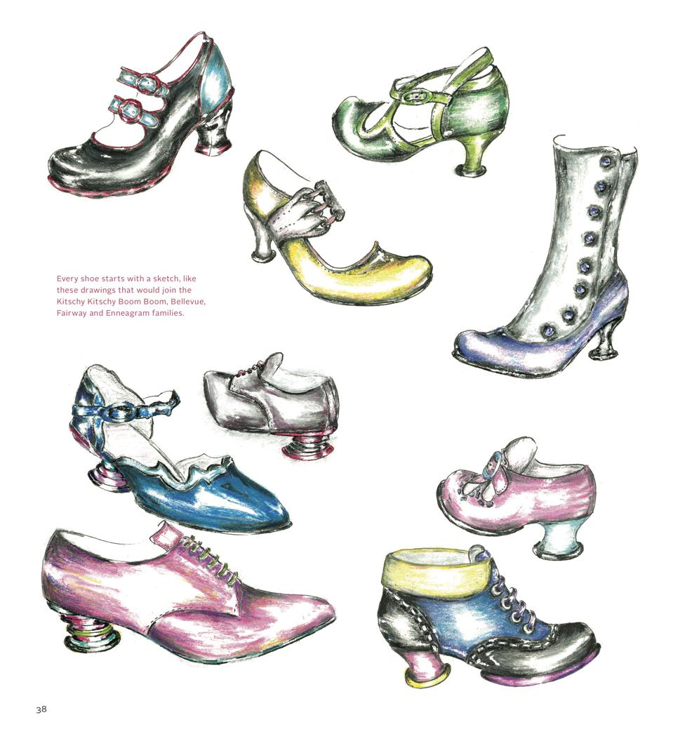 john fluevog shoe designer shoes fashion sketch sketches