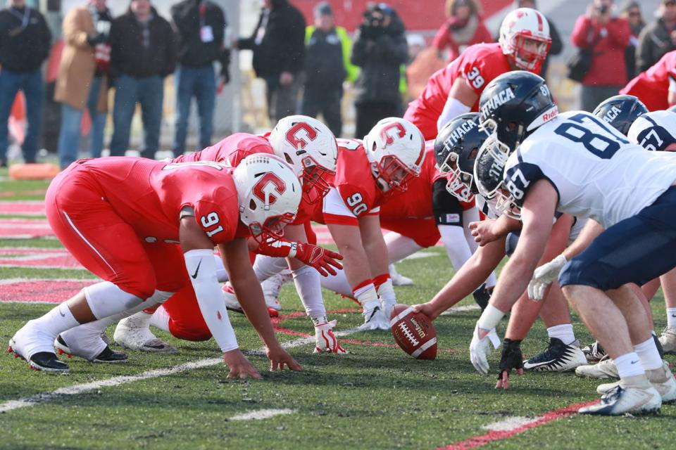 Ithaca and SUNY Cortland in 2018.