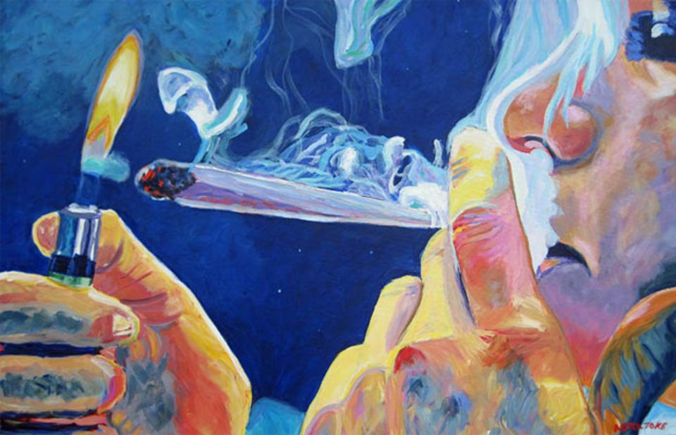 Puff, Pass, and Paint, cannabis painting classes, cannabis tours, Denver, cannabis tourism